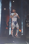 Real Madrid Nacho Fernandez during the celebration of the 13th UEFA Championship at Santiago Bernabeu Stadium in Madrid, June 04, 2017. Spain.<br /> (ALTERPHOTOS/BorjaB.Hojas)