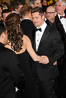 Brad Pitt arrives at the 81st Annual Academy Awards held at the Kodak Theatre in Hollywood, Los Angeles, California on 22 February 2009
