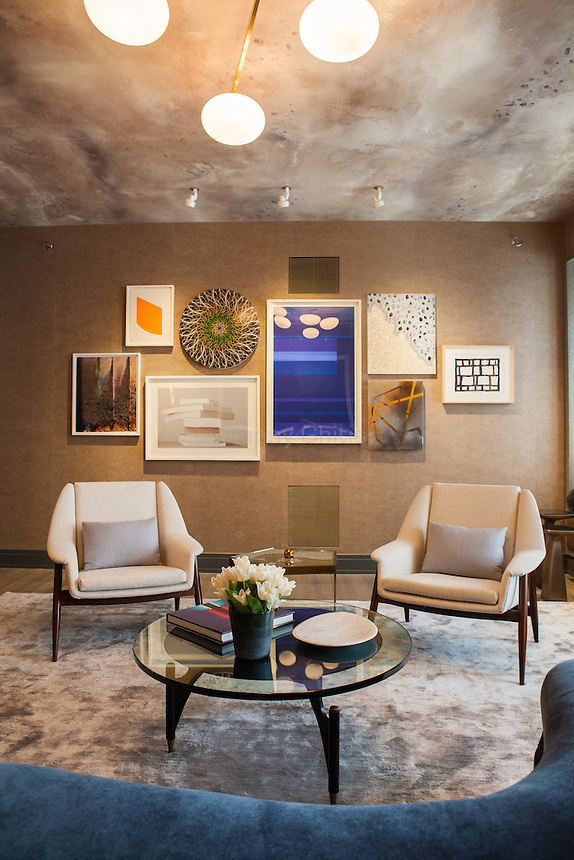 The Kips Bay Decorator Show House invited twenty one designers and architects to transform a luxury Manhattan townhouse for a benefit to the Kips Bay Boys &amp; Girls Club. <br /> <br /> Pictured, design by Eve Robinson Associates<br /> <br /> Danny Ghitis for The New York Times