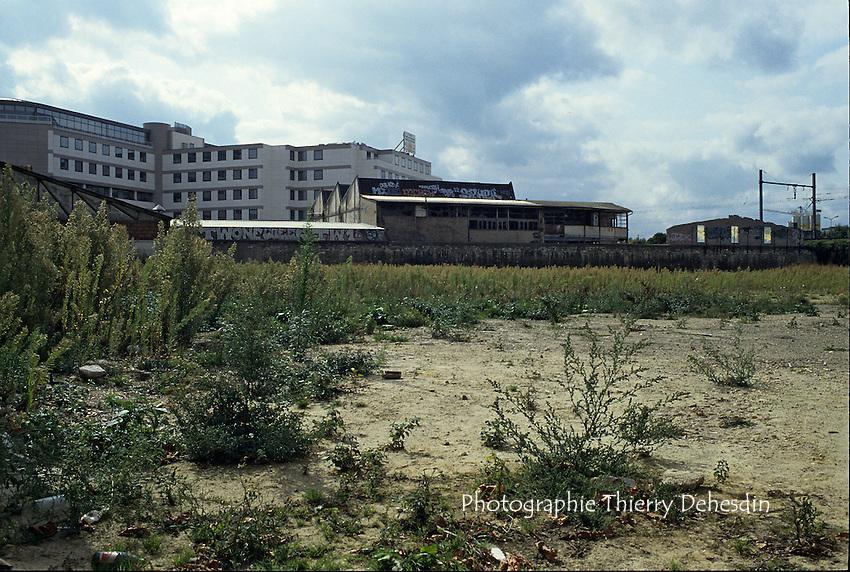 1989-1994; Issy Les Moulineaux;  Val de Seine; Chantier Isséane