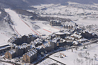 The Alpensia Resort is a ski resort and a tourist attraction. It is located on the territory of the township of Daegwallyeong-myeon, in the county of Pyeongchang.  Alpensia Resort will host some events  for the 2018 Winter Olympics and 2018 Winter Paralympics in Pyeongchang.