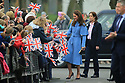 HRH The Duke and Duchess of Cambridge meet the public in Ballymena, County Antrim,  Thursday, Feb 28, 2019. Prince William and Kate met the Ballymena public on day two of their visit to Northern Ireland.  Photo/Paul McErlane