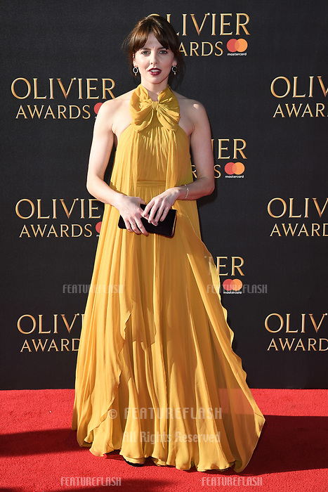 Ophelia Lovibond at The Olivier Awards 2017 at the Royal Albert Hall, London, UK. <br /> 09 April  2017<br /> Picture: Steve Vas/Featureflash/SilverHub 0208 004 5359 sales@silverhubmedia.com