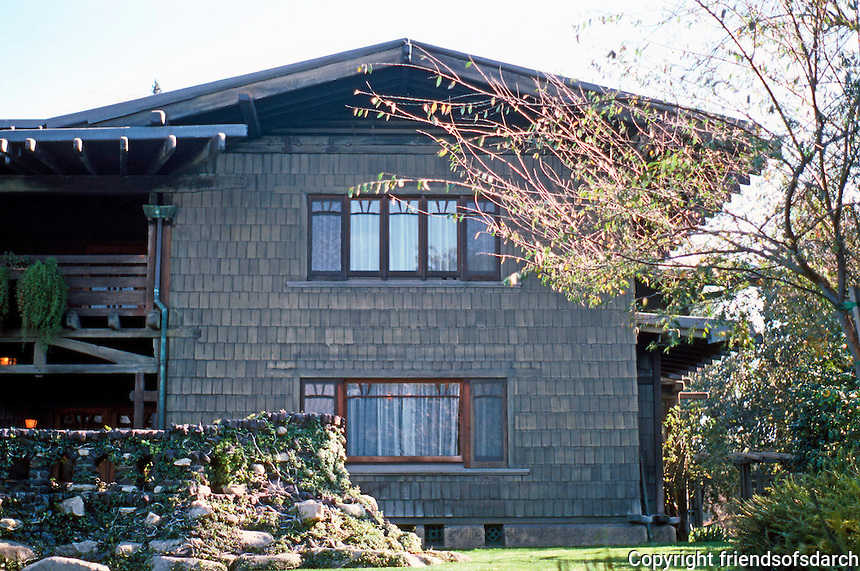 Greene & Greene: Gamble House. Pasadena CA.  Photo '87.