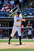 Staten Island Yankees first baseman Casey Stevenson #28 during a game against the State College Spikes at Richmond County Bank Ballpark at St. George on July 14, 2011 in Staten Island, NY.  Staten Island defeated State College 6-4.  Tomasso DeRosa/Four Seam Images