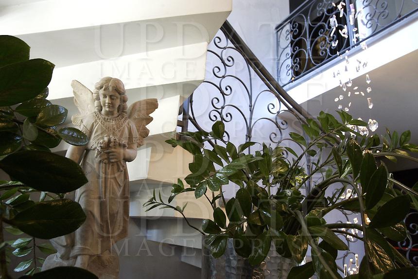L'interno dell'Hotel Sant'Anselmo, a Roma.<br /> Interior of the Hotel Sant'Anselmo, in Rome.<br /> UPDATE IMAGES PRESS/Riccardo De Luca