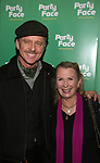 Maxwell Caufield and Juliet Mills attends the Opening Night of 'Party Face' on January 22, 2018 at Robert 2 Restaurant in New York City.