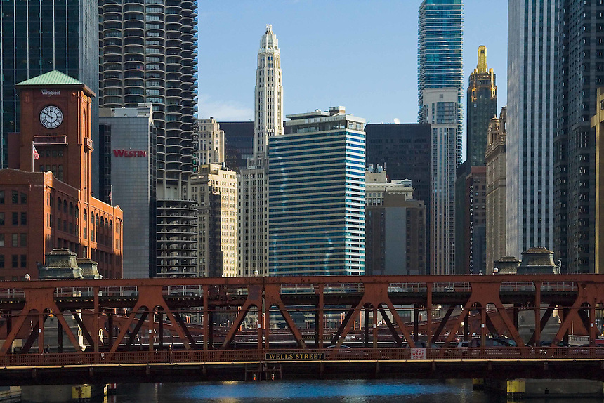 Various images of the city of Chicago