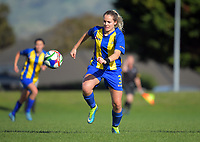 Action from the Women's Capital Premier League 2017 / Knockout Cup football match between Kapiti Coast United and Victoria University School of Wellington AFC at Weka Park in Raumati, New Zealand on Sunday, 14 May 2017. Photo: Dave Lintott / lintottphoto.co.nz