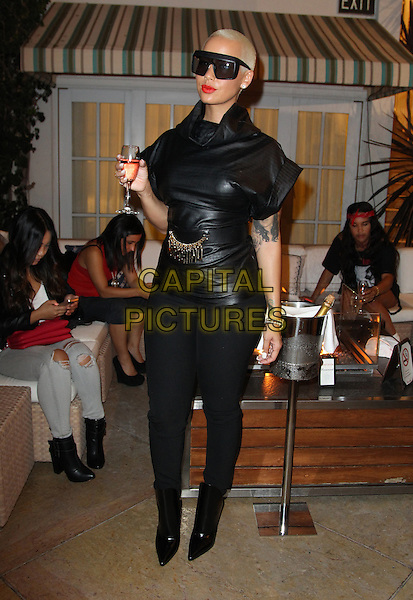 Beverly Hills, CA - October 16: Amber Rose Attending The XXIV Karat Launch Party At The Beverly Hilton_Inside At The Beverly Hilton Hotel California on October 16, 2014.  <br /> CAP/MPI/RTNUPA<br /> &copy;RTNUPA/MediaPunch/Capital Pictures