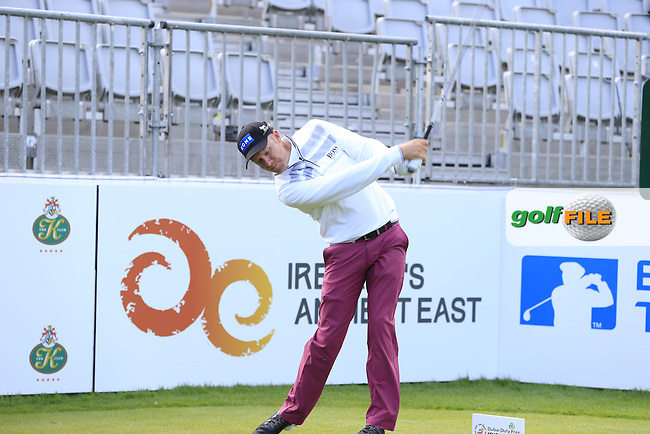 Mikko Illonen (FIN) team in action during Wednesday's Pro-Am of the 2016 Dubai Duty Free Irish Open hosted by Rory Foundation held at the K Club, Straffan, Co.Kildare, Ireland. 18th May 2016.<br />