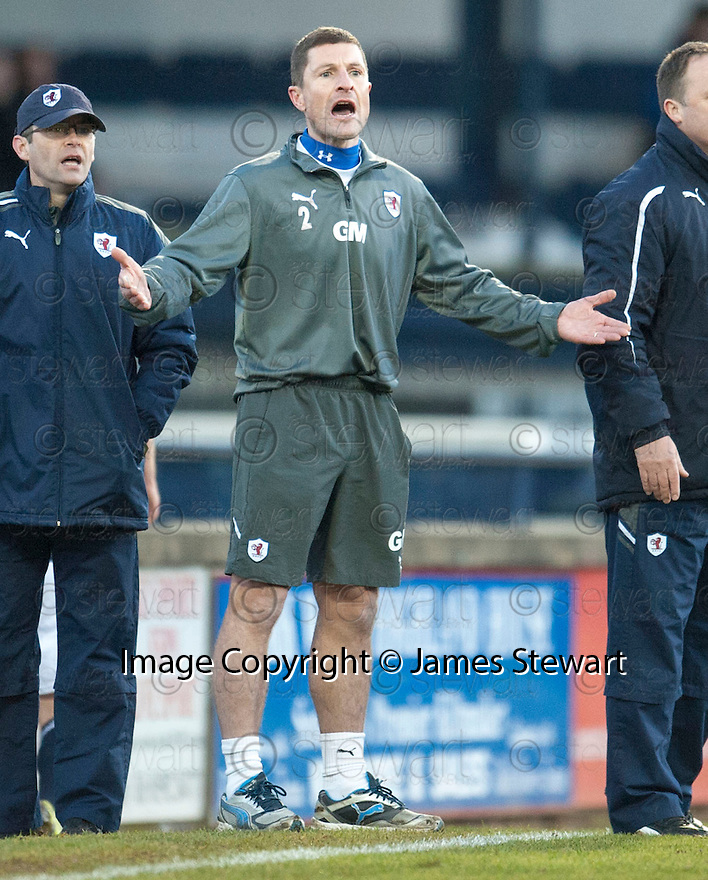 Raith Rovers' manager Grant Murray ...