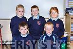 Rockchapel NS junior infants front row l-r: Eli Shine, Tadhg Mulcahy. Back row: Leah Murphy, TJ Kelly and Aoibhe Fitzgerald
