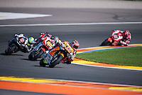 VALENCIA, SPAIN - NOVEMBER 8: Sam Lowes during Valencia MotoGP 2015 at Ricardo Tormo Circuit on November 8, 2015 in Valencia, Spain