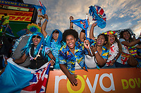 Day one of the 2018 HSBC World Sevens Series Hamilton at FMG Stadium in Hamilton, New Zealand on Saturday, 3 February 2018. Photo: Joe Johnson / lintottphoto.co.nz