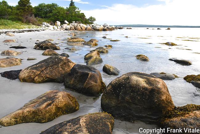Rocky Shore of Port Joli Harbour, Thomas Raddall Provincial Park, Nova Scotia