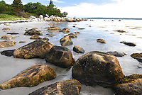 Rocky Shore of Port Joli Harbour, Thomas Raddall Provincial Park, Nova Scotia