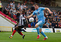 Chris Stokes of Coventry does some defending during Grimsby Town vs Coventry City, Sky Bet EFL League 2 Football at Blundell Park on 12th August 2017