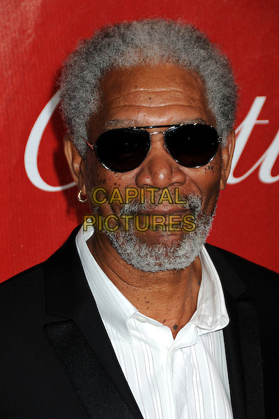 MORGAN FREEMAN .Palm Springs International Film Festival Awards Gala 2010 held at the Palm Springs Convention Center, Palm Springs, California, USA, .5th January 2010..portrait headshot beard sunglasses facial hair white shirt .CAP/ADM/BP.©Byron Purvis/AdMedia/Capital Pictures.