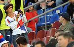 FUDBAL, BEOGRAD, 5. Jun 2010. - Navijacica. Prijateljska utakmica izmedju Srbije i Kameruna odigrana u okviru priprema za Svetsko prvenstvo u Juznoj Africi. Foto: Nenad Negovanovic
