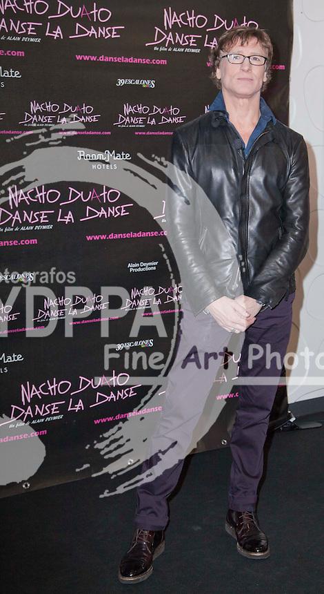 "13/02/2013 Madrid, España, Photocall de la presentacion del documental ""Danse la danse"" sobre Nacho Duato, bailarin y coreografo  (C) Nacho Lopez/ DyD Fotografos"