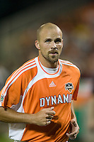 Houston defender Craig Waibel jogs into position during the game. D.C. United defeated the Houston Dynamo 2-0 at RFK Stadium in Washington, D.C. on April 15, 2006