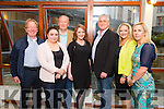 Dan Collins Recovery Haven, Shauna  Houlihan Fels Point Hotel,  Cllr Jim Finucane, Lisa Kerins Judge, Stephen Baker Judge, Jackie O'Mahony Judge and Moira Fitzgerald Organiser at 'The Voice' in Tralee in Fels Point Hotel on Saturday in aid of Recovery Haven