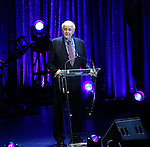 """Leonard Tow during the Roundabout Theatre Company's 2017 Spring Gala """"Act ii: Setting the Stage for Roundabout's Future""""  presentation honoring Frank Langella and Leonard Tow at the Waldorf Astoria Hotel on February 27, 2017 in New York City."""
