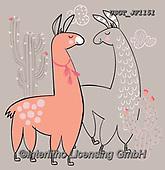 Lamont, CUTE ANIMALS, LUSTIGE TIERE, ANIMALITOS DIVERTIDOS, paintings+++++,USGTJF1151,#ac#, EVERYDAY.lama,lamas