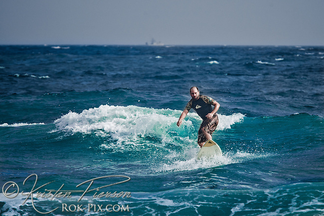 Brad Surfing Photos