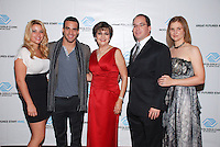 Loriet Bernal, US Gold Medalist Danell Leyva, Olga Guilarte, Alex Rodriguez-Roig, and Cristina Rodriguez-Roig attend The Boys and Girls Club of Miami Wild About Kids 2012 Gala at The Four Seasons, Miami, FL on October 20, 2012