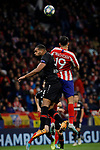 Diego Costa of Atletico de Madrid and Jonathan Tah of Bayer 04 Leverkusen during the UEFA Europa League match between Atletico de Madrid and Bayer 04 Leverkusen at Wanda Metropolitano Stadium in Madrid, Spain. October 22, 2019. (ALTERPHOTOS/A. Perez Meca)