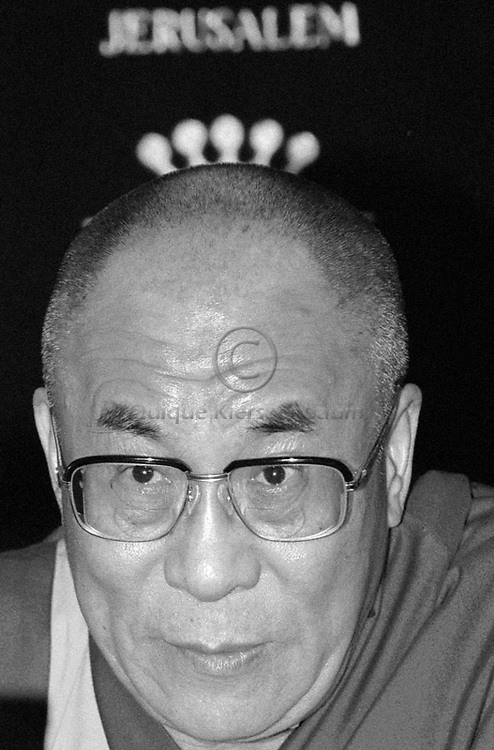 The Tibetan Buddhism leaderThe Dalai Lama in Jerusalem. Photo by Quique Kierszenbaum