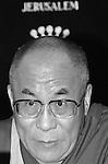 The Tibetan Buddhism leaderThe Dalai Lama in Jerusalem. Photo by Quique Kierszenbaum