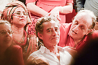RIO DE JANEIRO, RJ, 01.10.2018 - ELEIÇÕES-2018 - O ator brasileiro Chico Diaz esteve presente no ato político na Cinelândia, região central do Rio de Janeiro nesta segunda-feira, 01.(Foto: Vanessa Ataliba/Brazil Photo Press)