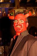Halloween devil.