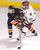 Daryl Marcoux, Chris Collins - Boston College defeated Princeton University 5-1 on Saturday, December 31, 2005 at Magness Arena in Denver, Colorado to win the Denver Cup.  It was the first meeting between the two teams since the Hockey East conference began play.