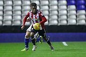 1st November 2017, St. Andrews Stadium, Birmingham, England; EFL Championship football, Birmingham City versus Brentford; Florian Jozefzoon of Brentford gets the ball and sets off down the wing