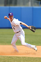 Northwestern Wildcats Cody Stevens #4 during a game against North Dakota State at Chain of Lakes Park on March 20, 2011 in Winter Haven, Florida.  Photo By Mike Janes/Four Seam Images