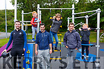 Enjoying the first day back in the Cahersiveen Playground on Tuesday were l-r; Patrick Cournane, Jack O'Shea, Sean Cournane, Dylan O'Driscoll, Daragh O'Driscoll & Joseph O'Shea.