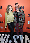 "Lauren Molina and Nick Cearley attend the Second Stage Production of ""Days Of Rage"" at Tony Kiser Theater on October 30, 2018 in New York City."