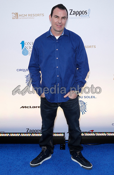 18 March 2016 - Las Vegas, Nevada - Steve Stevens. Cirque Du Soleil presents star-studded blue carpet at Fourth Annual One Night for ONE DROP at the Cleveland Clinic Lou Ruvo Center for Brain Health. Photo Credit: MJT/AdMedia