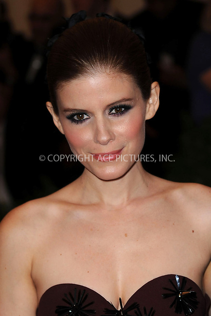 WWW.ACEPIXS.COM....May 6 2013, New York City....Kate Mara arriving at the Costume Institute Gala for the 'PUNK: Chaos to Couture' exhibition at the Metropolitan Museum of Art on May 6, 2013 in New York City.....By Line: Kristin Callahan/ACE Pictures......ACE Pictures, Inc...tel: 646 769 0430..Email: info@acepixs.com..www.acepixs.com