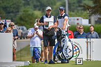 Henrik Stenson (SWE) looks over his tee shot on 17 during 2nd round of the World Golf Championships - Bridgestone Invitational, at the Firestone Country Club, Akron, Ohio. 8/3/2018.<br /> Picture: Golffile | Ken Murray<br /> <br /> <br /> All photo usage must carry mandatory copyright credit (© Golffile | Ken Murray)