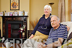 Pat and Tim O'Carroll in their home in Castle Lawn Drive.