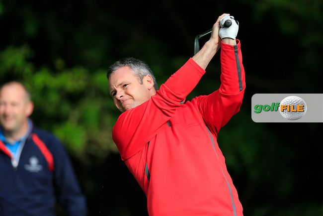 Willian Noble (County Cavan GC) during the first round of the Irish PGA Championship, Dundalk Golf Club, Dundalk Co Louth. 01/10/2015<br /> Picture Golffile | Fran Caffrey | PGA<br /> <br /> <br /> All photo usage must carry mandatory copyright credit (&copy; Golffile | Fran Caffrey | PGA)