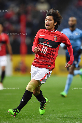Yosuke Kashiwagi (Reds),<br /> FEBRUARY 24, 2016 - Football / Soccer :<br /> AFC Champions League Group H match between Urawa Red Diamonds 2-0 Sydney FC at Saitama Stadium 2002 in Saitama, Japan. (Photo by AFLO)