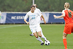 05 November 2008: North Carolina's Yael Averbuch (17). The University of North Carolina defeated the University of Miami 1-0 at Koka Booth Stadium at WakeMed Soccer Park in Cary, NC in a women's ACC tournament quarterfinal game.
