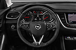 Car pictures of steering wheel view of a 2018 Opel Grandland X Innovation 5 Door SUV