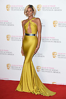 Alesha Dixon<br /> in the winners room at the 2016 BAFTA TV Awards, Royal Festival Hall, London<br /> <br /> <br /> &copy;Ash Knotek  D3115 8/05/2016